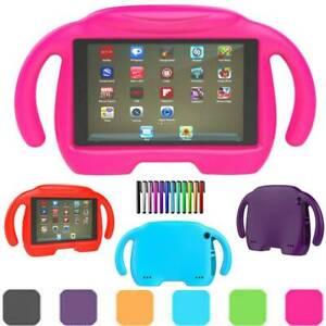 Kids EVA Handle Case Cover Shockproof For Amazon Kindle Fire 7 2017 2015 Tablet