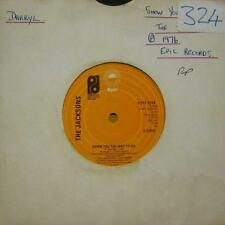 """The Jacksons(7"""" Vinyl)Show You The Way To Go-Epic-S EPC 5266-UK-VG/NM"""