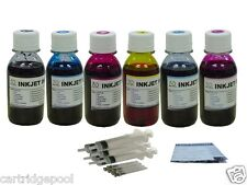 Bulk refill Ink for HP 02 inkjet printer 6X100ml+6S