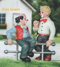 Gilde Clown Sonderedition handbemalte Sammlerfigur Zwiegespräch zweiteilig 10211