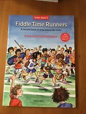 Fiddle Time Runners Violin Book 2 With Cd