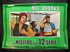 FOTOBUSTA CINEMA - IL MISTERO DELLE 12 SEDIE - MEL BROOKS - 1970 - COMMEDIA - 01