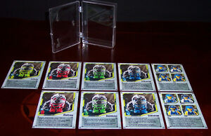 AUTHENTIC ULTRA RARE LEGO POWER MINERS COLLECTIBLE PROMOTIONAL CARDS GENUINE