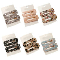 1Pairs Women Vintage Leopard Hair Clip Hairband Comb Bobby Pin Barrette Hairpin