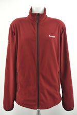 BERGANS OF NORWAY Mens Fleece Jacket 5810 Park City Red Zipped Coat Size XXL