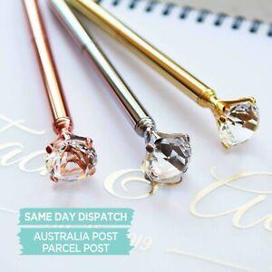 Bridesmaid gift, Bridal Shower Gift, Bling pen, Guest Book pen, Diamond Pen,plan