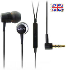 SONY HANDSFREE MH-750 mh750 Mic EARPHONES XPERIA Z 3.5MM Android UK
