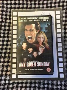 Any Given Sunday (VHS) Brand New & Sealed