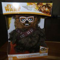 Brand New in Box Star Wars Chewbacca Plush Walk n Roar 12 inches