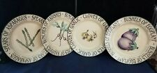 4 Newcor Garden Market-Treasures for the Table-Lois Mills -Salad Plates