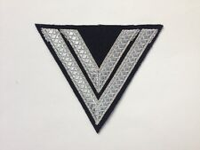 GERMAN WWII REPRODUCTION PANZER/ELITE EARLY-WAR OBERGEFREITER CHEVRON - MADE USA