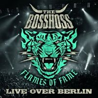 THE BOSSHOSS - FLAMES OF FAME (LIVE OVER BERLIN)  (2 CD)  ROCK & POP NEU