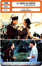 Movie Card. Fiche Cinéma. Le temps du destin / A Time of Destiny (USA) 1988