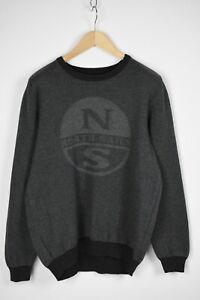 NORTH SAILS 698466-FW19 Men's EU XL Big Logo Thick Pullover / Sweater 30602_GS