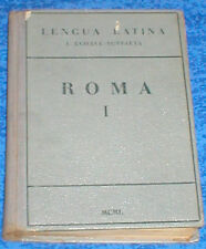 Libro Antiguo de TEXTO LENGUA LATINA LATIN 1950 ROMA I de ECHAVE SUSTAETA Raro !