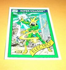 Electro # 58 1990 Marvel Universe Series 1 Base Impel Trading Card
