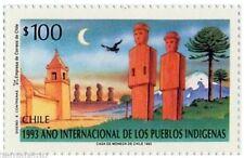 Chile 1993 #1647 Año Internacional de los Pueblos Indigenas MNH