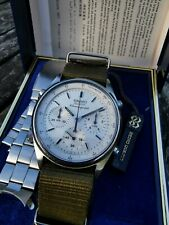 SEIKO 7A28 7020 JAMES BOND VINTAGE MEN'S FLYBACK CHRONOGRAPH WATCH