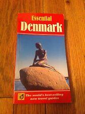 Essential Denmark Guide Book Travel Vacation Book 1994 Useful Helpful Nightlife