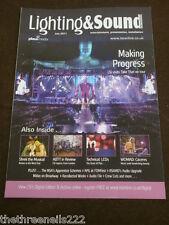 LIGHTING & SOUND INT - TAKE THAT ON TOUR - JULY 2011