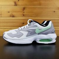 Nike Air Max 2 Light White Fresh Mint Gray AO1741-103 Men's Shoes