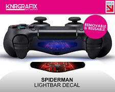 KNR2291 SPIDERMAN | Dualshock 4 PS4 Lightbar Light Bar Decal DS4