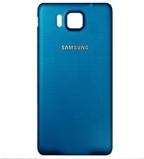 Coque Arriere / Cache Batterie Samsung Galaxy Alpha ( G 850 ) Bleu