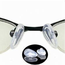 50Pairs Silicone Soft Eyeglass Sunglass Glasses Nose Pad Screw-On Style