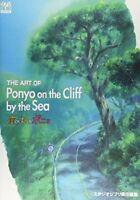 Ponyo on the Cliff by the Sea Art Book The Art of Ponyo Ghibli Hayao Miyazaki