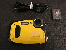 Fujifilm FinePix XP Series XP60 16.4MP Digital Camera - Yellow