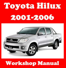 TOYOTA HILUX 2001 - 2006 2WD & 4WD WORKSHOP MANUAL DIGITAL DOWNLOAD
