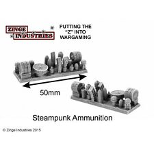 Zinge Industries Steampunk Ammunition Magazines and Rounds X2 Bits New S-ABD06