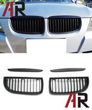 2006-2008 BMW E90 OE 323i 325i 328i 335i 4Dr 5Dr Matte Black Front Kidney Grille