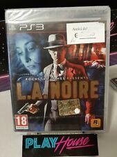 L. A. Noire Pal UK Rockstar Nuovo Sigillato PS3 Playstation 3 LA Noire
