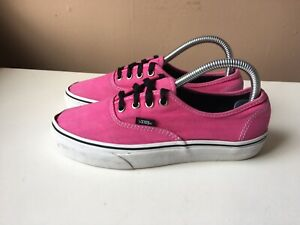 VANS ladies pink casual trainers UK size 5, US size 7.5