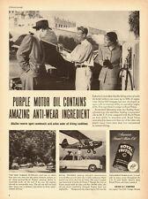 1951 vintage Ad, Royal Triton 'Purple' Motor Oil, Union Oil Co. 121413