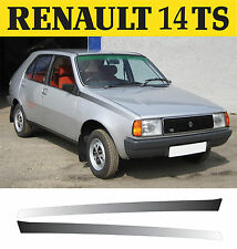 Renault 14 TS - Decals