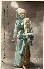 BE356 Carte Photo vintage card RPPC Femme woman Vincourt mode robe fashion hat