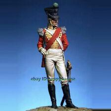 Unpainted 75mm Ancient Warrior Officer 71st Highlands Figure Model Garage Kits