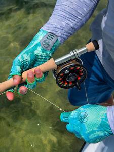 Buff Aqua Fishing Water Gloves- UPF 50+ Sun Protection-Pick Color/Size-Free Ship