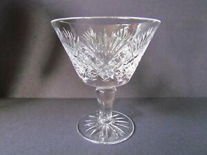 WEBB / DOULTON JUNO CHAMPAGNE SHERBET GLASSES (Ref7267)