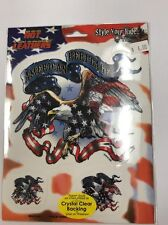 """New Military """"American Heritage"""" Sticker / Decal Army Navy Marines Air Force"""