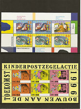 """NETHERLANDS 1996 #1676, 1701 mnh """"for the ELDERLY and CHILDREN"""" D938p"""