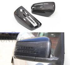 For Mercedes Benz W204 W176 W212 A45 C63 AMG Carbon Fiber Mirror Cover Housing