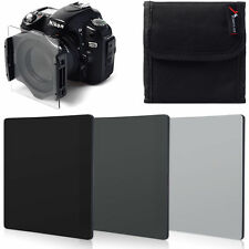 3pcs ND2 ND4 ND8 Neutral Density Filter Kit for Cokin P Series LF01