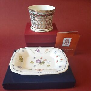 """Royal Crown Derby SINCLAIRS """"Chatsworth"""" TRAY + Chatsworth cup in A Derby Design"""