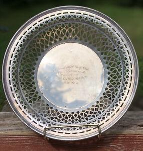 Vintage CHESTNUT HILL Golf Club NY Sterling Trophy Award Smith Patterson Boston