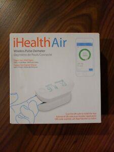 iHealth Air Wireless Fingertip Pulse Oximeter New.