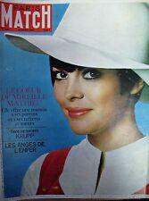 PARIS MATCH N° 940 de 1967 MIREILLE MATHIEU KRUPP CALIFORNIE HELL'S ANGELS VIET