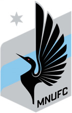 Minnesota United FC 4 Inch MLS Color Die-Cut Decal / Car Sticker *Free Shipping